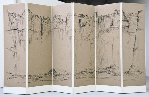 Bilder ohne Ende - des Zeichners Raffi Kaiser im Freiburger Morat-Institut