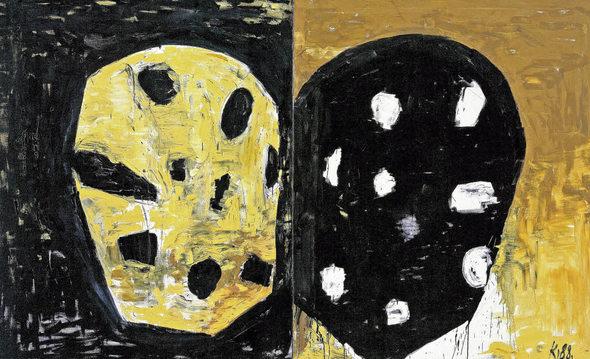 Ungebrochene Bildmacht: Ein Diptychon von Kurt Kocherscheidt